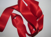 Red Quality Double Satin Ribbon 3 metres X 3mm For £1.25