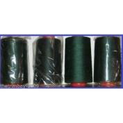 Bottle Green 103 Overlocking Sewing Machine Polyester Thread Four 5000 Yards Cone