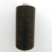 Always Knitting And Sewing Coates Moon Spun Polyester Sewing Thread 1000 Yards, Dark Brown No 81