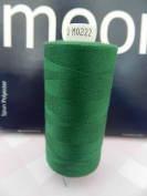 Always Knitting And Sewing Coates Moon Spun Polyester Sewing Thread 1000 Yards, Emerald Green No. 222