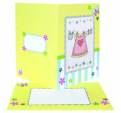 Anchor Craft Kit Baby Girl Card