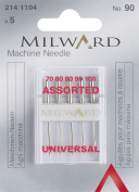 Milward Flat Shank Gauge 90 Assorted Sewing Machine Needle