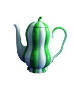 Augarten 4900157029 Mocha Jug, Porcelain, Emerald Green/White, 16.5 x 10 x 17 cm 2 Units
