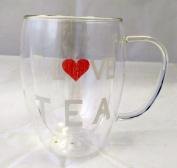 "'I Love Glass Infusion Tea ""Mug"