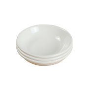 3 pcs Ceramic snack plate soy sauce vinegar seasoning dish Round small dish