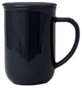 Viva Scandinavia Minima Balance Tea Cup (0.5L), Porcelain, Charcoal Blue, 13.2 x 9 x 14.2 cm