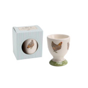 CGB Giftware Holly House Chicken Egg Cup (One Size)
