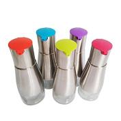 330ml Stainless Steel Olive Oil Bottle Leak Proof Seasoning Bottle for Vinegar Soy Sauce Dispenser Random Colour