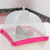 Dustproof, anti-mosquito, foldable, fine net yarn, table cover tents/ suitable for outdoor, barbecue, home use