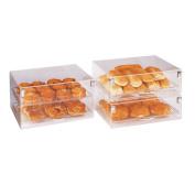 Garcia de Pou Cake Display Stackable 2 Levels, Acrylic, 47 x 36 x 25.5 cm