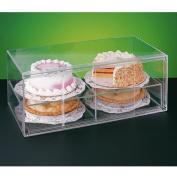 Garcia de Pou Cake Display Elongated 2 Levels, Acrylic, 64 x 33 x 25.5 cm