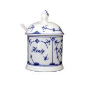 Eschenbach Tallin Indian Blue 20 Litre Honey 0 Storage Container Porcelain, Indigo Colour, 1 x 1 x 1 cm
