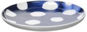R2S 1717indi 15.5x15.5x2 cm Tapas Dish 15 cm Bone China White/Blue