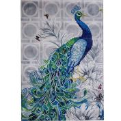 30*45cm 5D Diamond Embroidery Painting DIY Peacock Craft Kit Painting Rhinestone Cross Stitch Home Decor