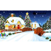 Hunpta 5D Christmas Diamond Rhinestone Pasted Embroidery Painting Cross Stitch Home Decor