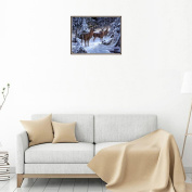 erthome Home 5D Embroidery Paintings Rhinestone Pasted DIY Diamond Painting Cross Stitch