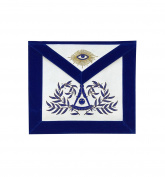 Masonic Past Master Apron Hand Embroided Apron Velvet