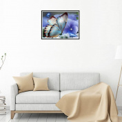 erthome 5D Embroidery Paintings Rhinestone Pasted DIY Canvas + Diamond painting Cross Stitch Decoration
