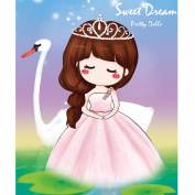 Jamicy Cute Pretty Girls 5D Embroidery Painting Cross Stitch Home Decor