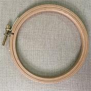 WRMHOM 4.92 Inch Wooden Embroidery Hoop 12.5cm Hand Stitching Hoop - Cross Stitch Hoop - Framing Hoop - Stitchery Hoop - Craft Supply Hoop