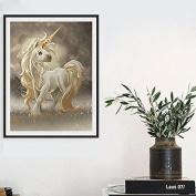 DIY 5D Unicorn Mosaic Diamond Embroidery Painting Cross Stitch Kit Home Decor