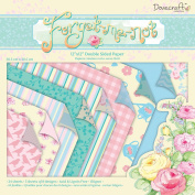 Dovecraft Forget Me Not Collection - Paper Pack 30cm x 30cm