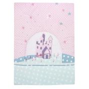 ALVI Crawling Blanket 100 x 135 cm Star Lock Pink 2 Kit