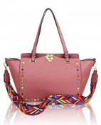 LeahWard Women's Aztec Guitar Strap Shoulder Bags Large Designer Tote Handbags For Her Holiday 2178