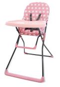 Asalvo Stars High Chair, Pink