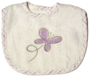 Be Be's Collection 735 Bib with Hook and loop 26 Mini 24x28 CM Butterfly Purple