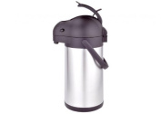 "'Eva Collection Thermal Jug Airpot with ""Tokyo, 19 Litres Capacity, Stainless Steel"