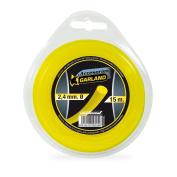 Garland 71021r1524 – Dispenser Nylon Round 15 M./2.4 mm Ø for Brushcutter