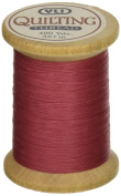 YLI 21104-018 3-Ply T-40 Cotton Hand Quilting Thread, 400 yd, Rose