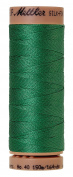 Mettler Silk-Finish 40 Weight Solid Cotton Thread, 164 yd/150m, Kelley