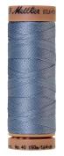 Mettler Silk-Finish 40 Weight Solid Cotton Thread, 164 yd/150m, Summer Sky