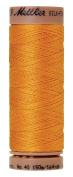 Mettler Silk-Finish 40 Weight Solid Cotton Thread, 164 yd/150m, Marigold