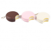 AIKEMI 3pcs Jumbo Cake Bread Donut Macaron Food Slow Rising Stress Squishy Soft Squishies Toy