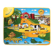 Musical Carpet Mat ♣Buyby toys, Baby's Touch Play Music Mat