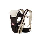 MultiWare Adjustable Infant Carrier Wrap Sling Newborn Backpack Breathable Ergonomic Design Khaki