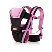 MultiWare Adjustable Infant Carrier Wrap Sling Newborn Backpack Breathable Ergonomic Design Pink