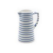 Gmundner Keramik Water Jug, Dizzy Blue, 700ml