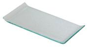 Porcelite Presentation CB73521 Glass Plate, 24.4 cm x 11.8 cm