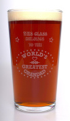 (FBA) Engraved GREATEST GRANDAD Pint Glass - Gift Idea For Birthday/Father's Day/Christmas