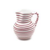 Gmundner Keramik Jug, Dizzy Red, 1000ml
