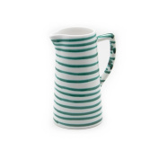 Gmundner Keramik Water Jug, Dizzy Green, 1000ml