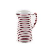 Gmundner Keramik Water Jug, Dizzy Red, 700ml