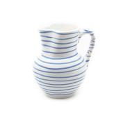 Gmundner Keramik Jug, Dizzy Blue, 1000ml
