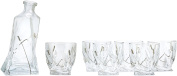 WINE BODIES ZG26800 Liquor Decanters, Clear
