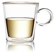 The Tea Makers of London Double Walled Glass Mug 200ml