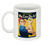 Ginsanity The Gin Collective Novelty Coffee Mug / Cup - We can Do it